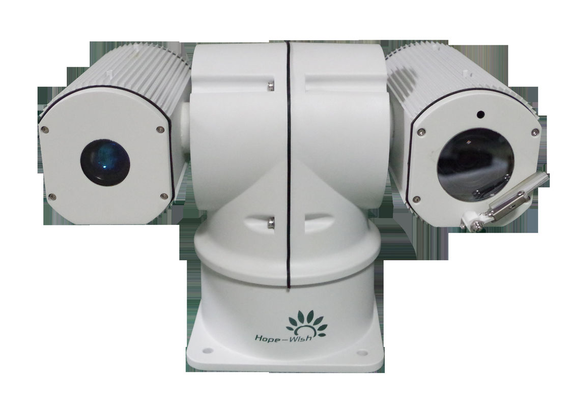 30x Long Range PTZ Laser Camera , Railway Surveillance Infrared Laser PTZ Camera