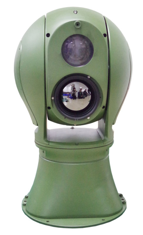 Ir Night Vision Thermal Surveillance System Long Range Auto Tracking Link With Radar