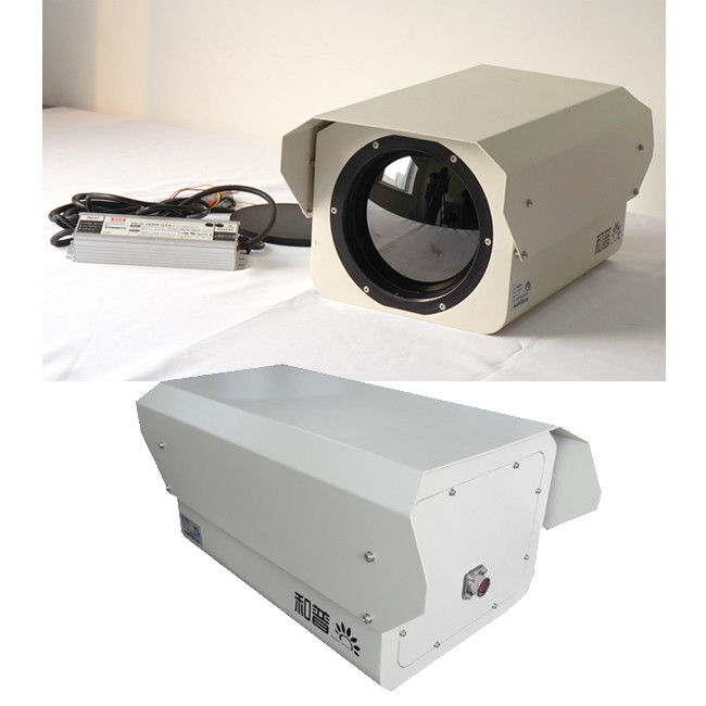 Outdoor Long Distance Surveillance Camera Thermal Security Camera For Seaport Safety