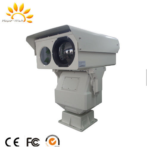Long Range Marine Surveillance Dual Thermal Camera With Night Vision